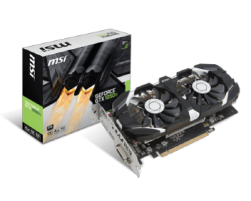 MSI GEFORCE® GTX 1050 TI 4GB